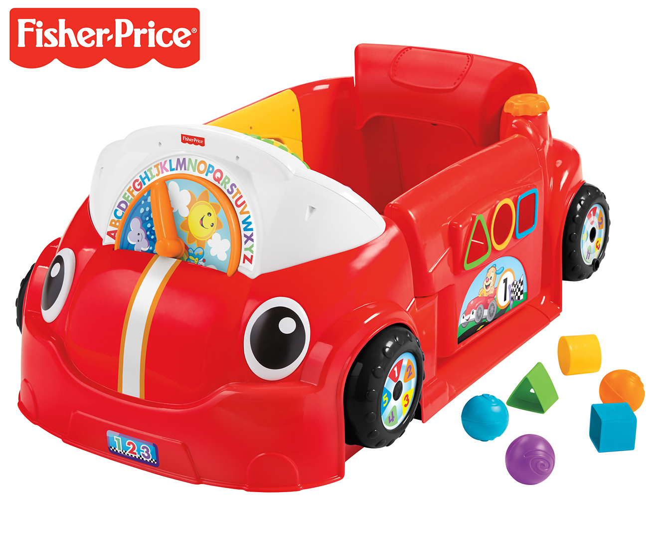 Fisher Price Laugh & Learn Crawl Around Car photo