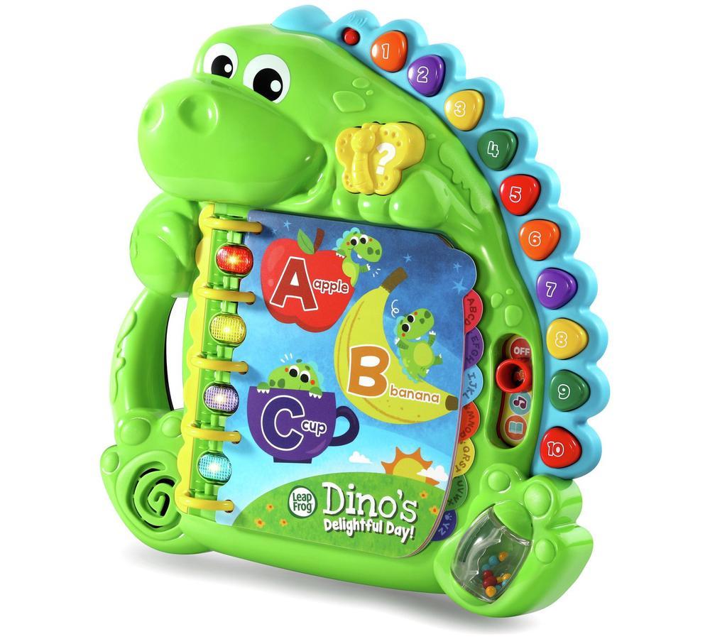 Leapfrog Baby Dino`s Delightful Day Book