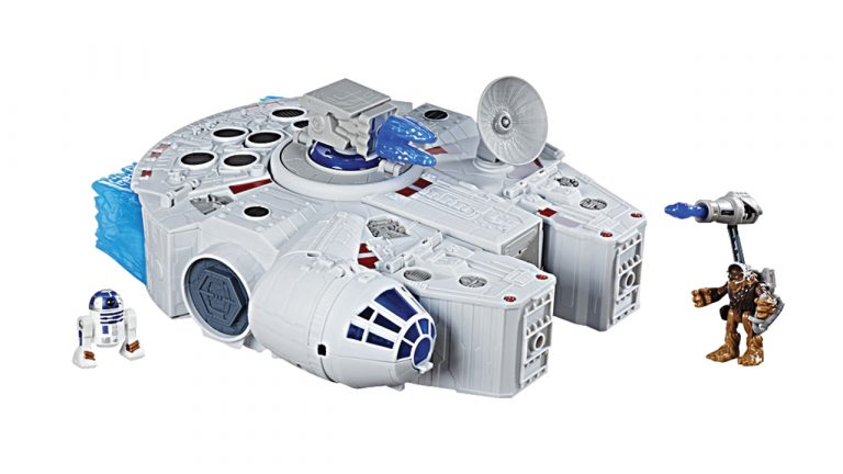 Star Wars Galactic Heroes 2 in 1 Millennium Falcon photo